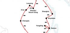 China: Cafés & Karst Mountains
