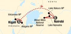 Legendary Wildlife of Rwanda & Kenya