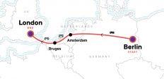 Berlin to London: Bikes & Beer Gardens