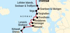Cruise the Norwegian Fjords with Scottish Highlands