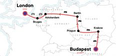 Budapest to London: Bike Tours & Belgian Waffles
