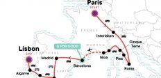 Paris to the Mediterranean: Coasts & Cafés