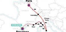 Paris to Barcelona: Tapas & Train Rides
