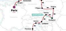 Rome to Paris: Cobblestones & Cuisine